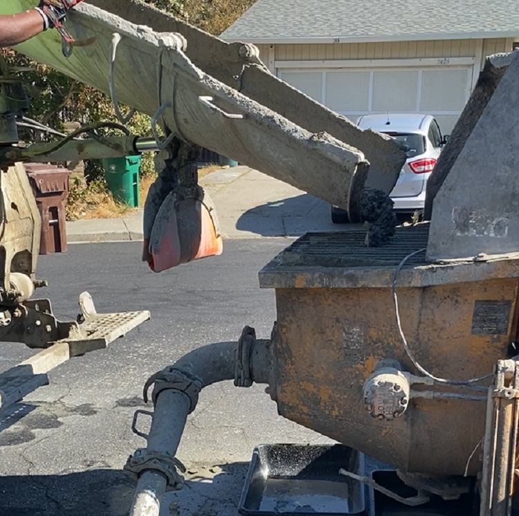 bay area concrete pumping